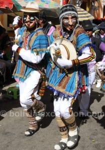 Danseurs boliviens