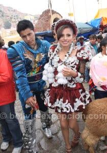 Couple de caporales, Oruro