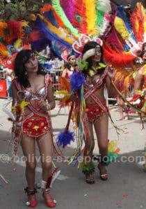 Carnaval costumé à Oruro