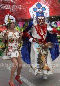 Danseurs de tobas à Oruro