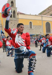 Danse caporales, Bolivie