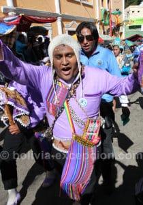 Llamerada à Oruro