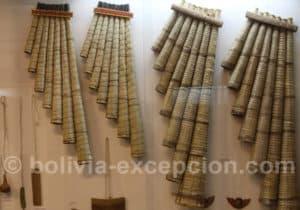 Flutes de pan, San Ignacio de Moxos, Beni
