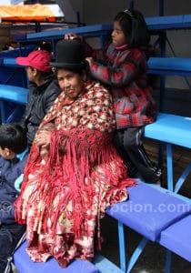 Chola au carnaval d'Oruro