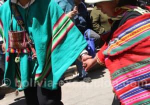Petits details du folklore Boliviens