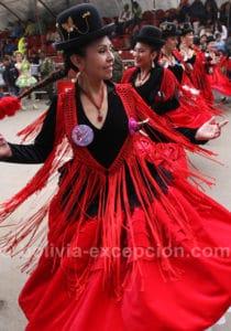 Danse folklorique bolivienne