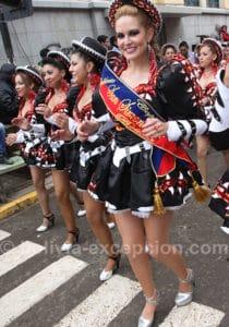 Comparse au carnaval d'Oruro