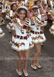 Programme du carnaval de Oruro