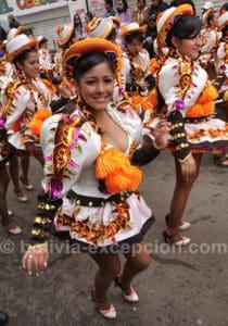 Défilé au carnaval de Oruro