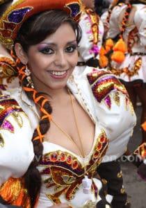 Portrait au carnaval de Oruro
