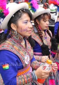 Comparsa Wiquis de wititis, Bolivie
