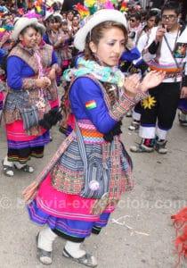 Danseuse de Wititis à Oruro