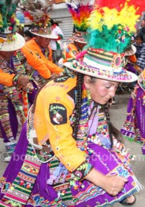 Carnaval de Oruro, meilleur endroit pour rencontrer les boliviens