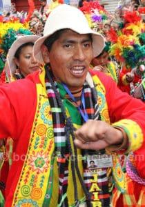 Les costumes du carnaval Oruro