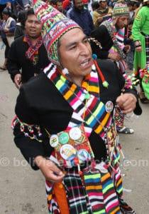 Comparsa de pujllay à Oruro