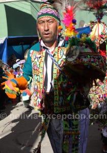 Danse pujllay à Oruro