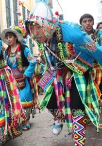 Danse Pujllay au carnaval