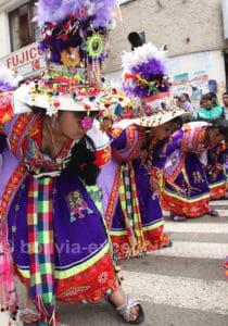 Danse Tinku, Bolivie