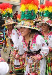 Tenue folklorique du carnaval