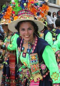 La joie de vivre au carnaval de Oruro