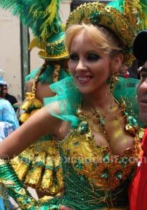 Lune de miel au carnaval de Oruro