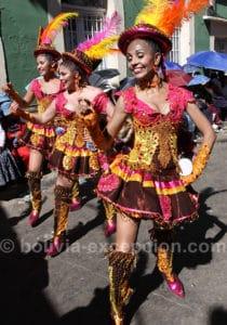 Grâce et beauté au carnaval de Oruro