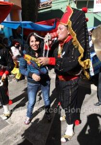 Scène du carnaval à Oruro