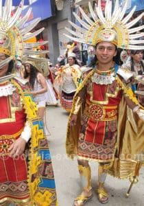 Danse inca au festival Oruro