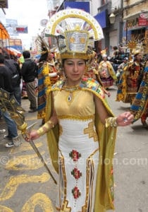 Février, mois du carnaval à Oruro