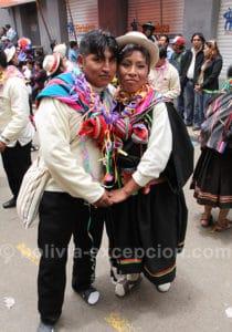 Voyage de noces au carnaval de Oruro