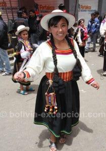 Oruro, ville en fête en février
