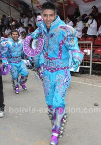 Cruceño au carnaval d'Oruro