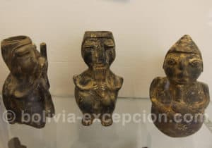 Musiciens en céramique, culture Pukara
