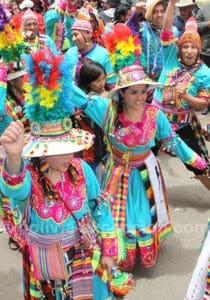 Danse tinku, Oruro