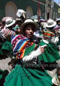 Danse tarqueada, carnaval de Oruro