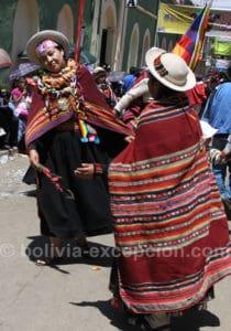 Danseuses kantus, carnaval de Oruro