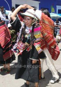Carnaval a lieu en l'honneur de la Vierge de la Chandeleur