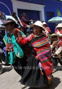 Carnaval Oruro inscrit au patrimoine culturel de l'humanité