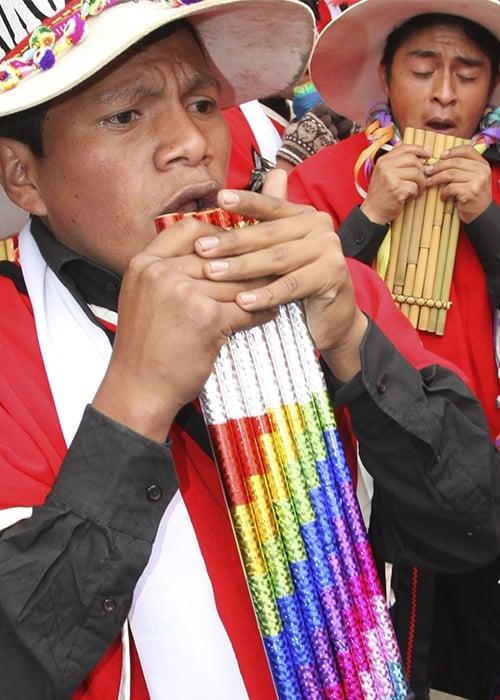 Home Bolivie instruments musiques