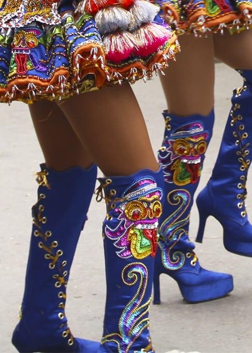 Home details folklore Boliviens