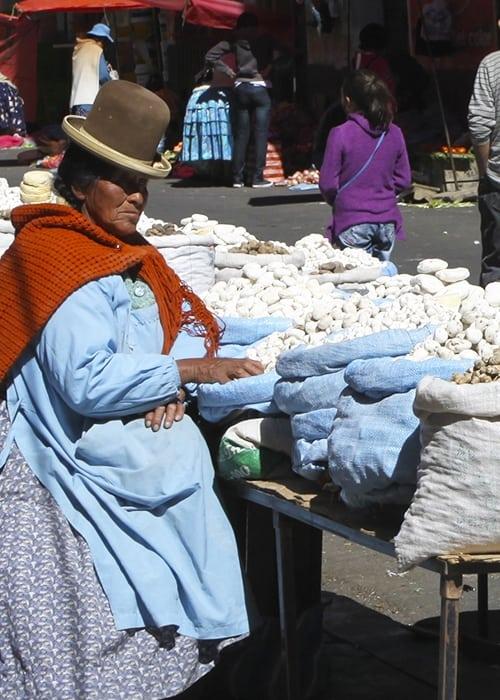 Les produits typiques de la cuisine Bolivienne