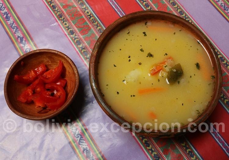 Soupe de mani - Bolivie