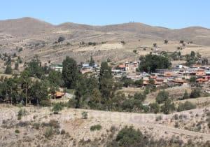 Village de Anzaldo, région de Cochabamba