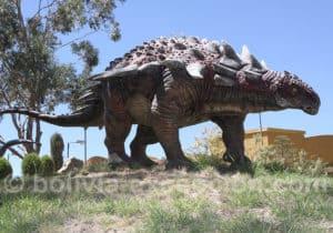 Ankylosaurian parc Orcko