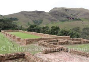 Visite du fort de Samaipata
