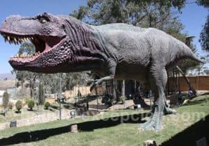 Tiranosaur parc Orcko