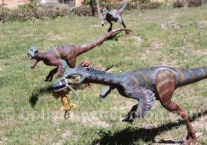 Alvarezsaurus parc Orcko