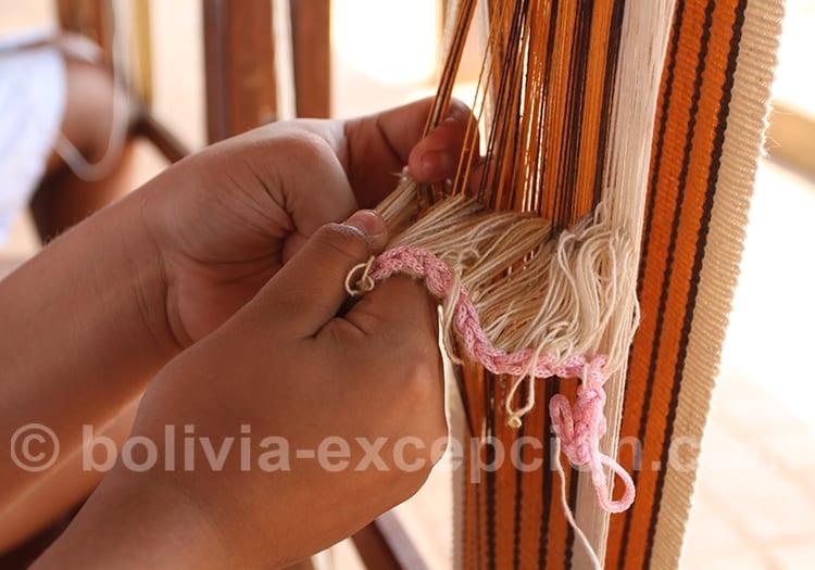 Tissages, Bolivie