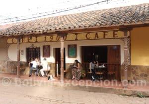 Restaurant à Samaipata