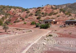 Route Anzaldo à Toro Toro